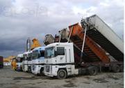 Аренда Зерновозов,  Самосвалов от 30 тонн от 40-45м3